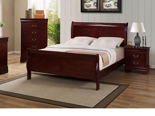 Louis Philip Cherry Bed