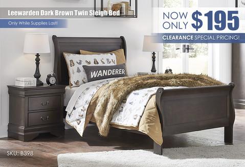 Leewarden Dark Brown Twin Bed_B398_Sep2021.jpg