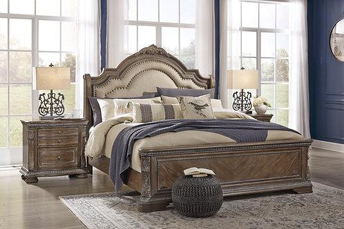 Charmond Linen Upholstered Bed