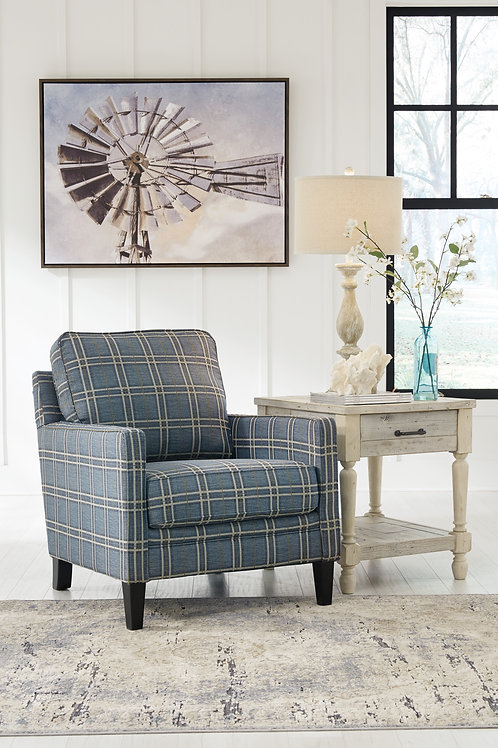 Traemore Linen River Accent Chair