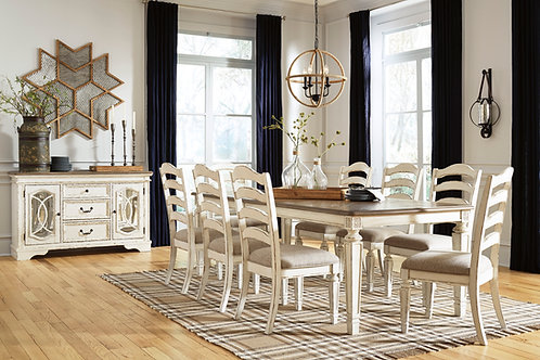 Realyn Extension Table & 8 Chairs