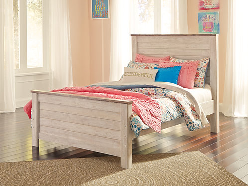 Willowtown Full Panel Bed
