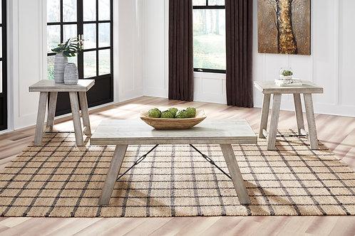 Carynhurst Whitewash Occasional Table Set