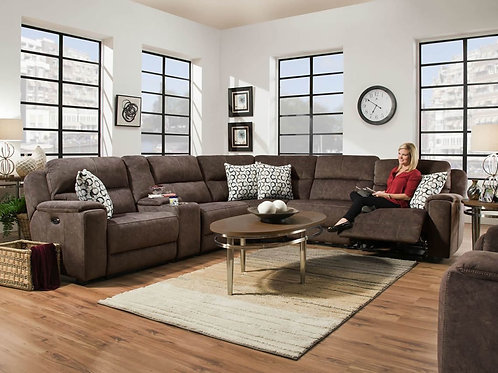 Imprint Cocoa 6-PC Sectional