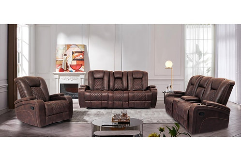 Cowboy Reclining Sofa OR Loveseat with Storage Console