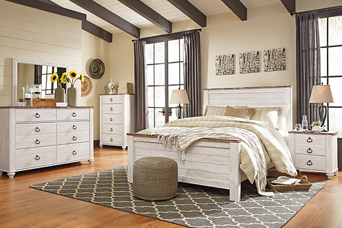Willowtown Panel Bedroom Set