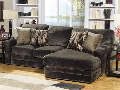 Everest Chocolate Sofa Chaise