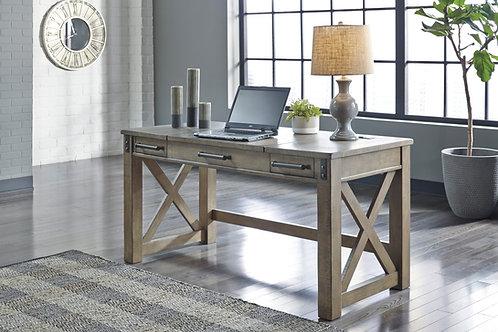 Aldwin Gray Home Office Lift-Top Desk