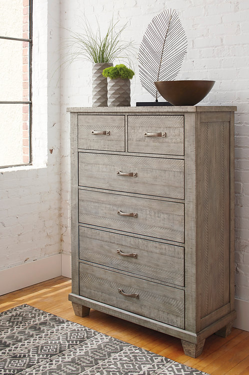 Naydell Rustic Gray Chest