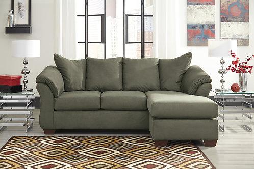 Darcy Sage Sofa Chaise