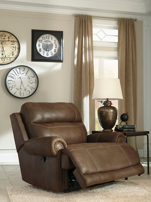 Austere Canyon Wide-Seat Wall Recliner