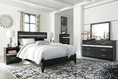Starberry Black Platform Bedroom Set