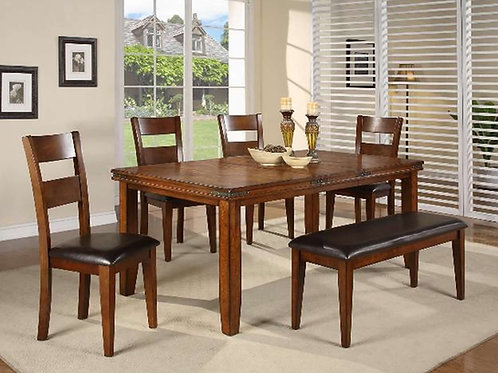 Figaro Dining Table & 4 Chairs