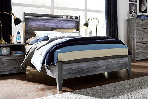 Baystorm Gray Full Bed