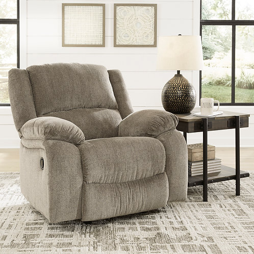 Draycoll Pewter Rocker Recliner