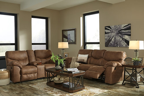 Boxberg Bark Reclining Sofa & Loveseat