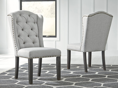 Jeanette Linen Upholstered Chairs
