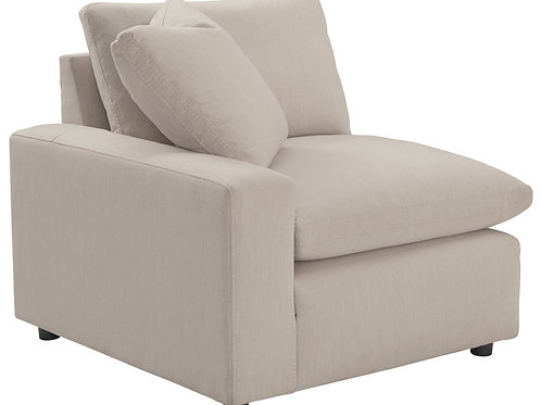 Savesto Ivory LAF Corner Chair