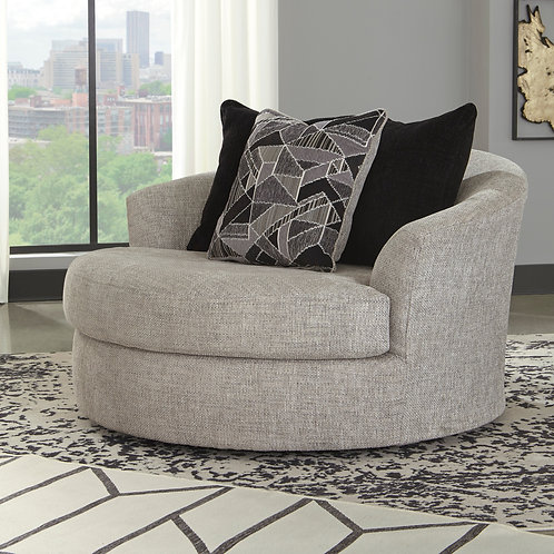 Megginson Storm Oversized Swivel Chair
