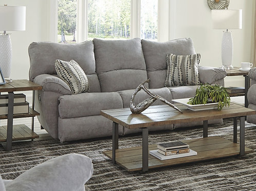 Sadler Mica Reclining Sofa w/Drop-Down Table