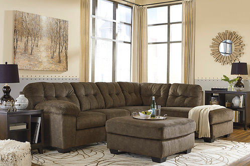Accrington Earth 2-PC RSF Sectional