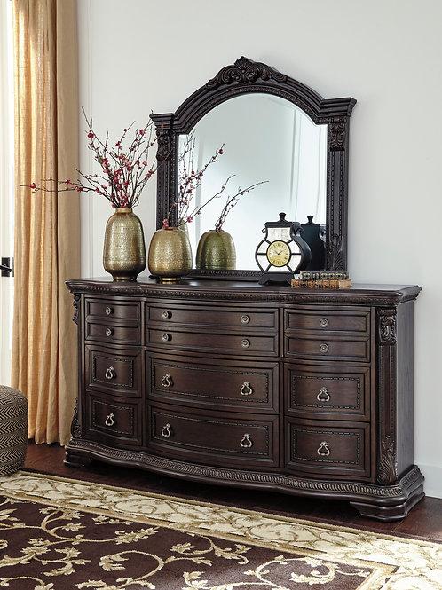Wellsbrook Dark Brown Dresser