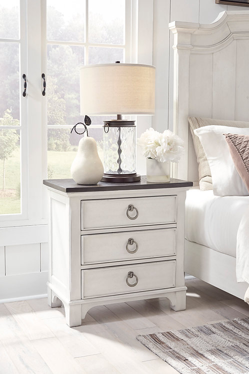 Nashbryn Two-Tone Nightstand