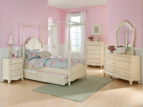 Cinderella Canopy Youth Bedroom Set
