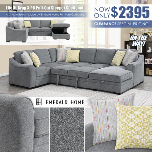 Elle XL Gray 3PC Pull Out Sleeper Sectional_EmeraldHome_U4378-11-12-16-03-K_9-Z_Sep2021.jp