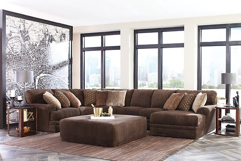 Mammoth Chocolate Large Sectional w/Chaise