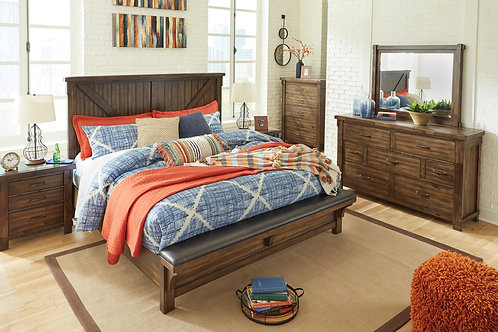 Lakeleigh Panel Bench Bed