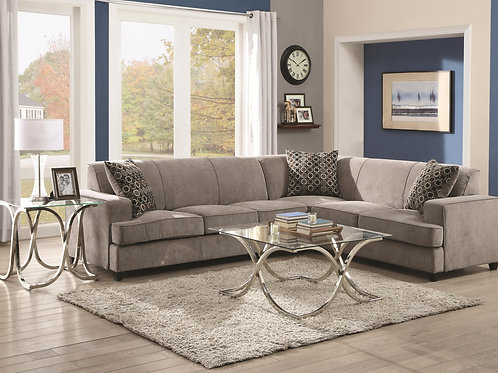 Tess Sectional by Coaster Furniture