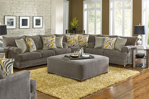 Crompton Pewter Sectional
