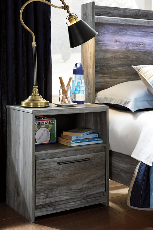 Baystorm Gray Nightstand