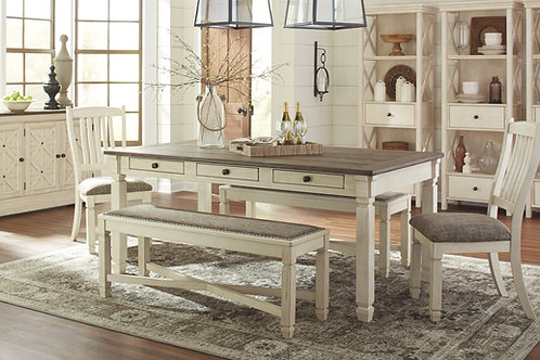 Bolanburg Dining Table & 4 Chairs