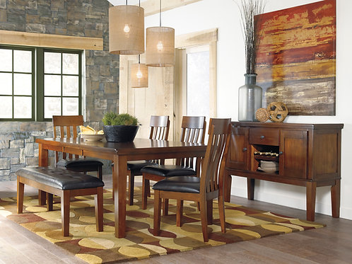 Ralene Dining Room Table & 4 Chairs