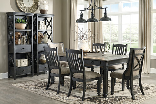 Tyler Creek Table, 4 Side Chairs, & 2 Upholstered Chairs