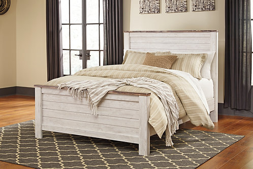 Willowtown Queen Panel Bed