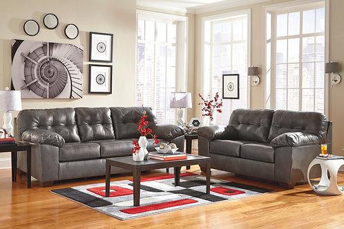 Alliston Gray Living Room Set