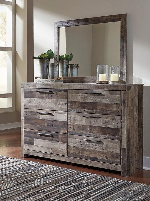 Derekson Multi-Gray Dresser