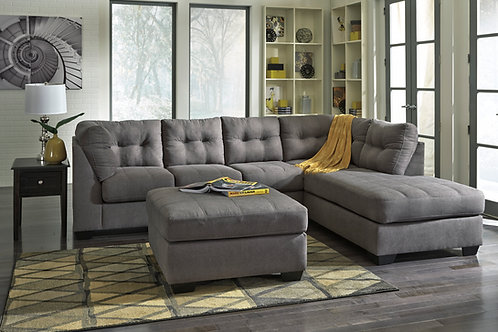 Maier Charcoal Sectional (RSF)