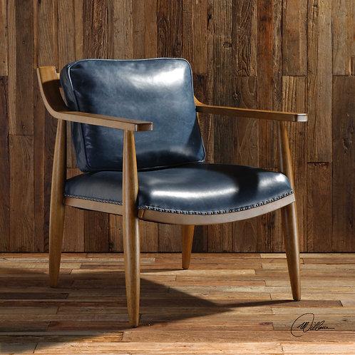 Dillian Top Grain Leather Chair