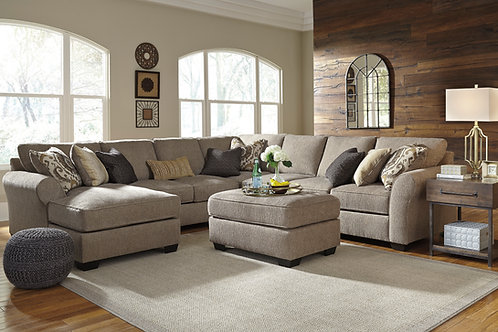 Pantomine Driftwood 5 PC Sectional (LSF)