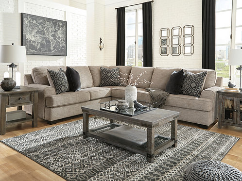 Bovarian Stone 3-Piece Sectional