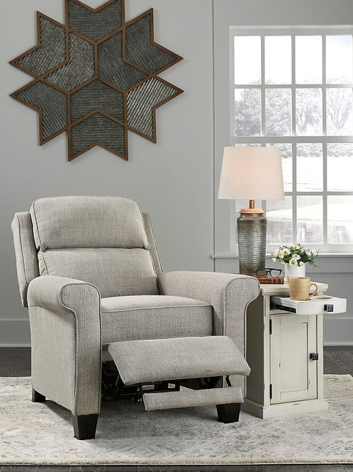 Evanside Gravel Low Leg Power Recliner