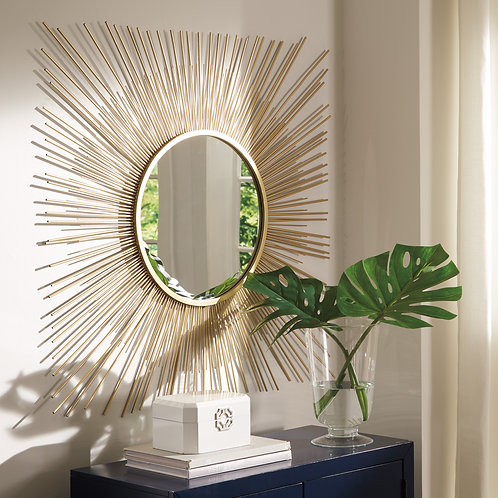 Elspeth Gold Tone Mirror