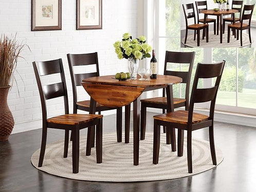 Jacey Round 5-PC Dining Set