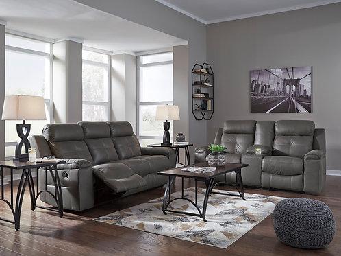 Jesolo Gray Reclining Sofa & Loveseat