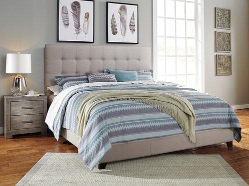 Dolante Beige Upholstered Bed