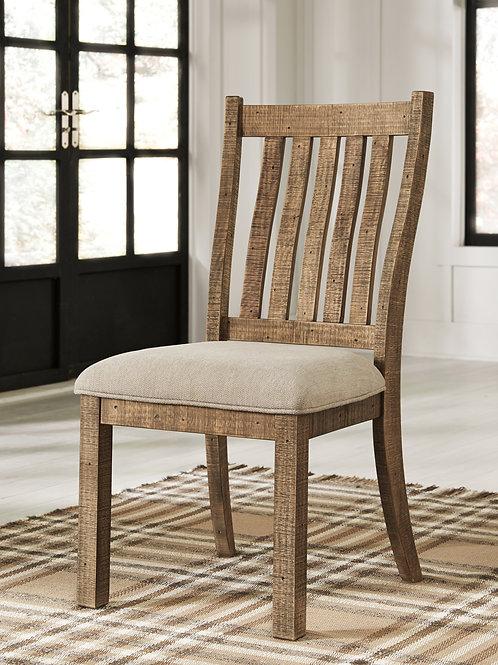Grindleburg Light Brown Upholstered Chair